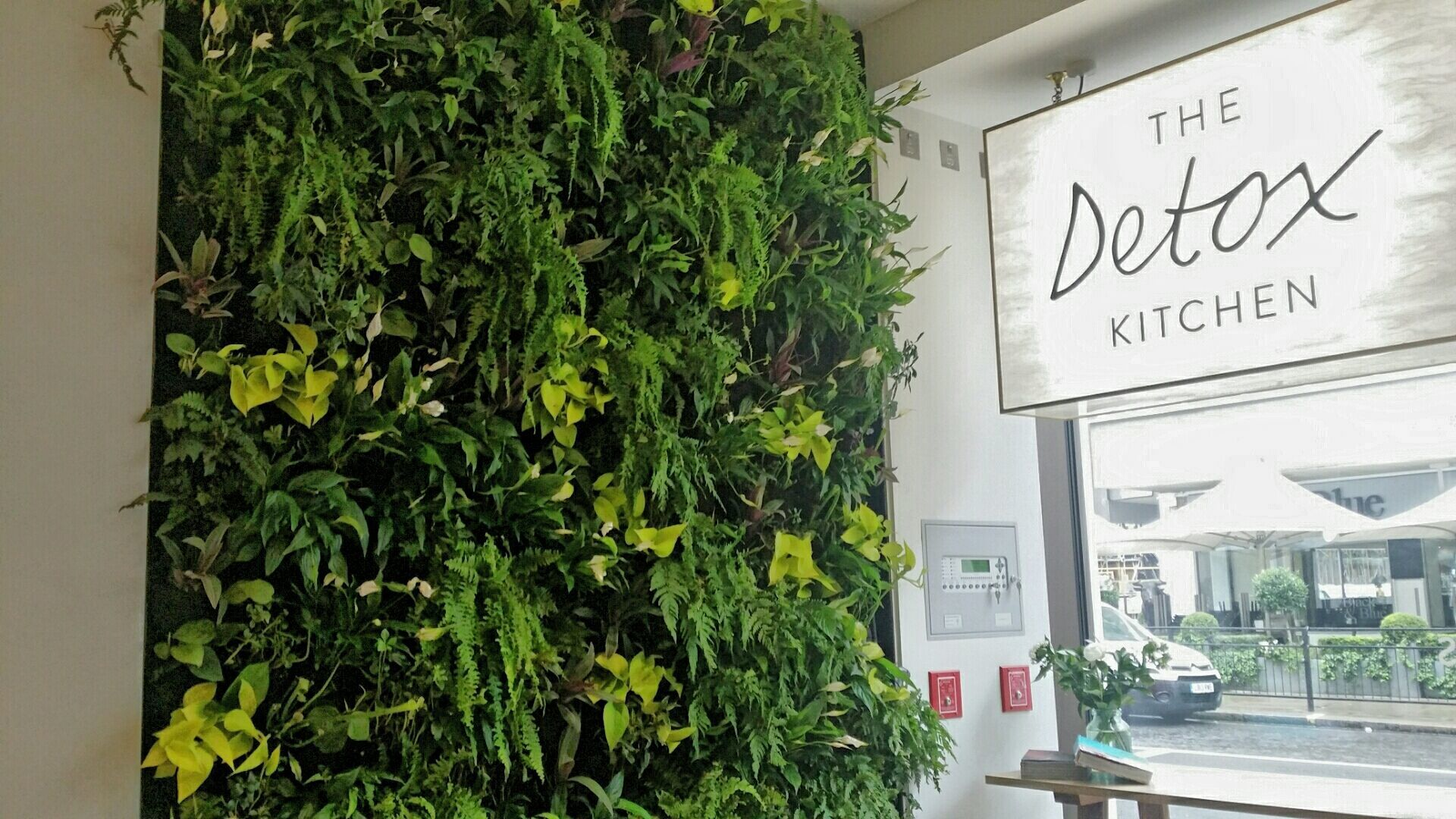 Living Wall Detox Kitchen