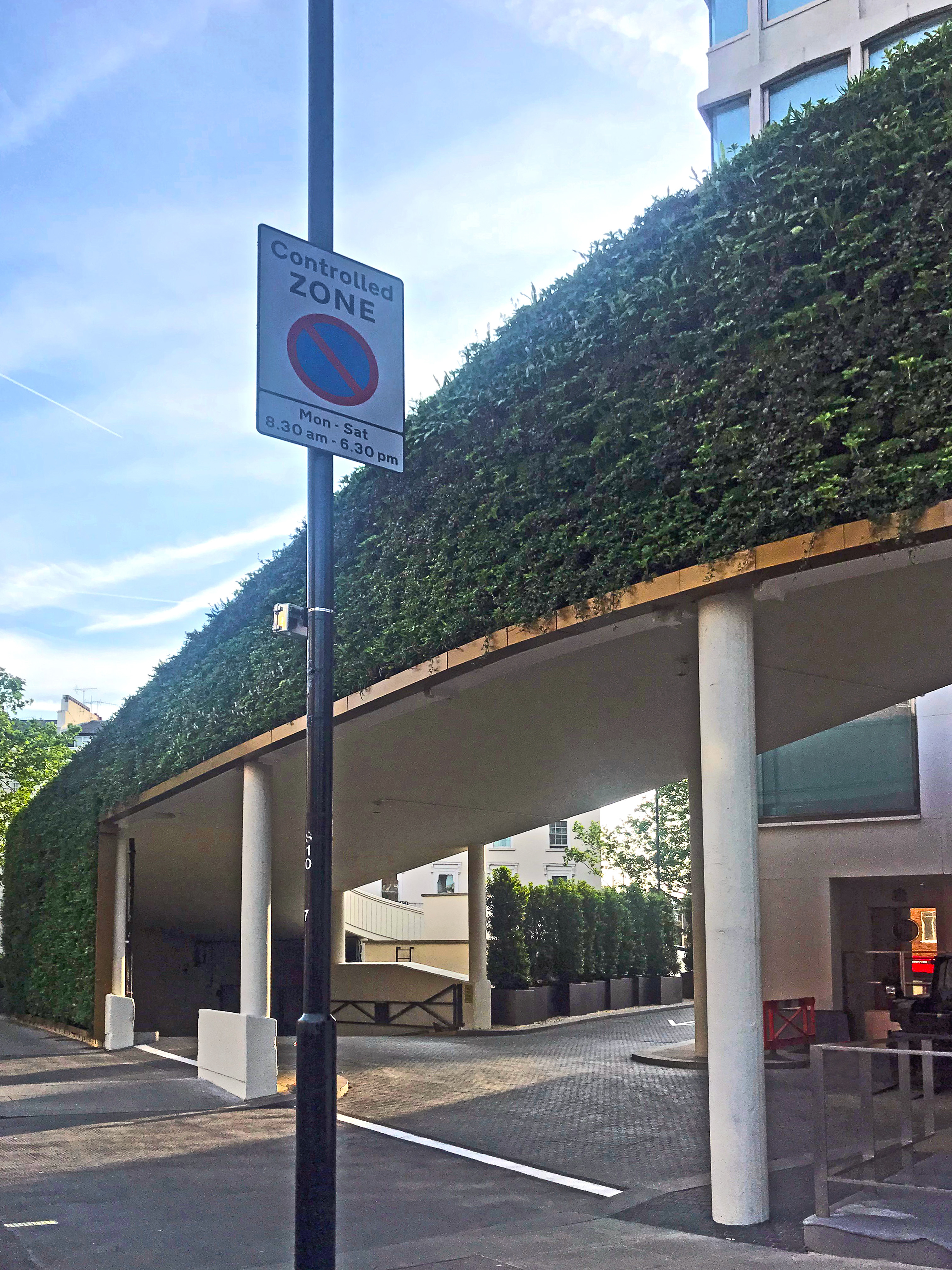 Living Wall at Royal Lancaster Hotel London