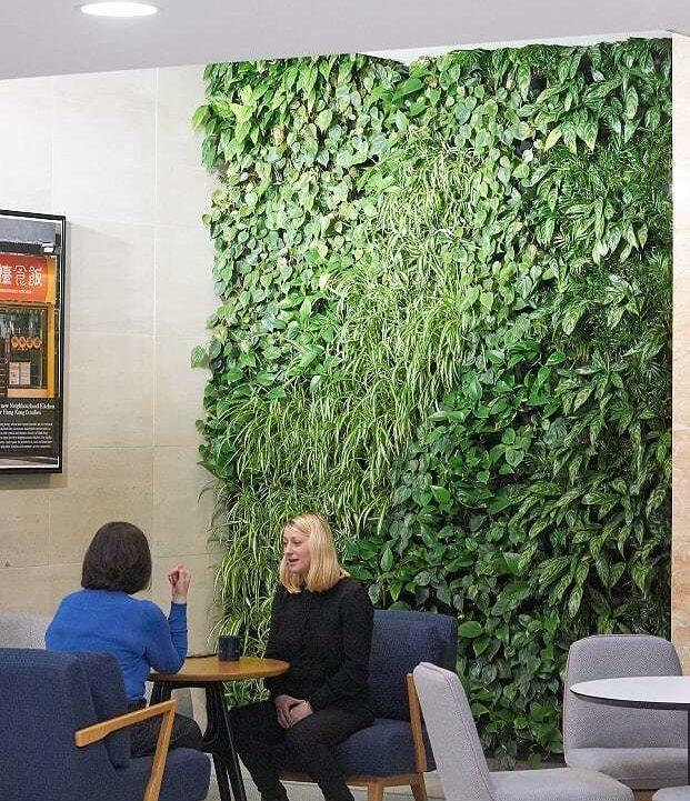 Living Wall Interior Meeting Spaces Grosvenor Head Office