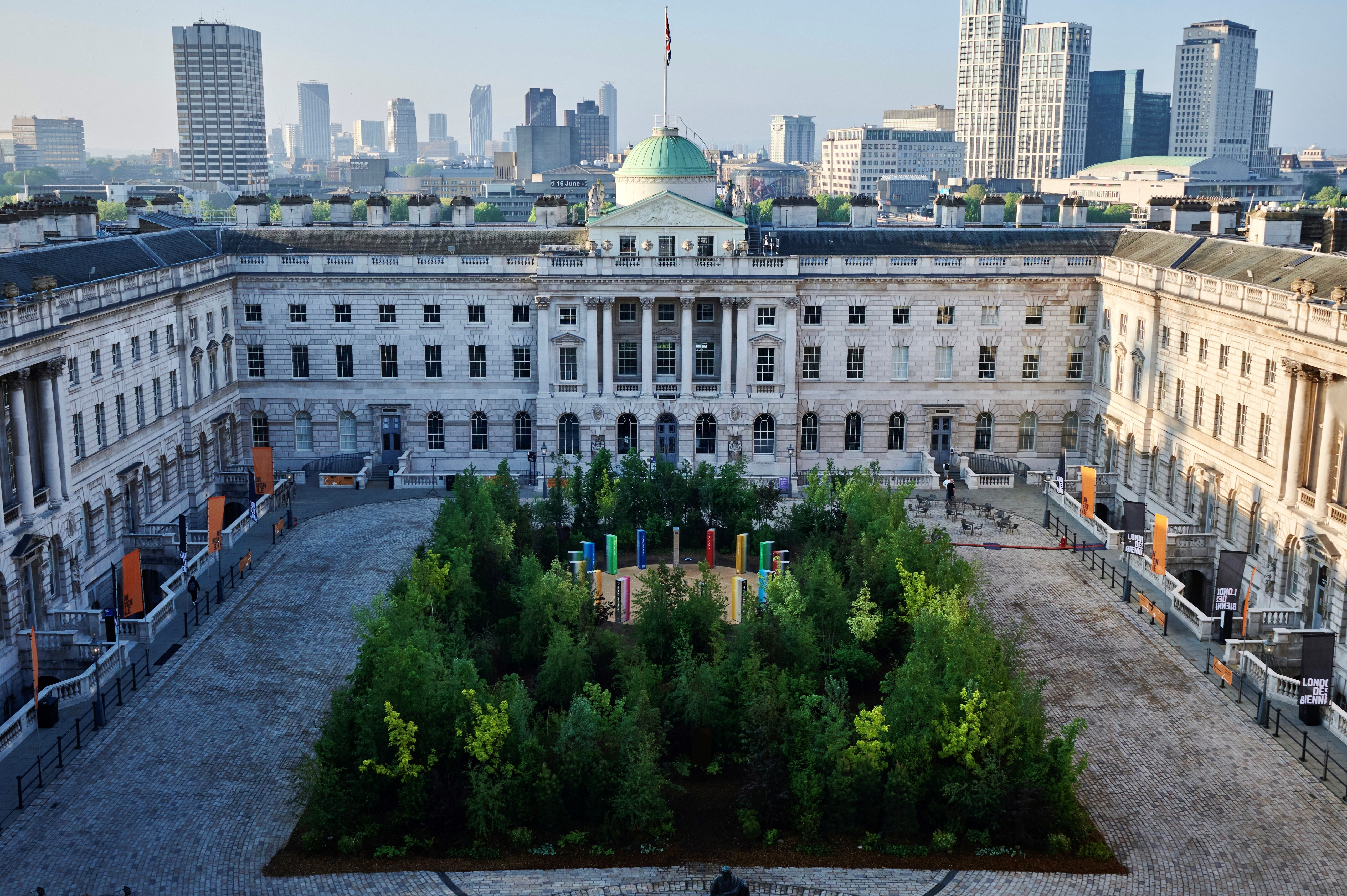 The Forest for Change at the London Design Biennale 2021