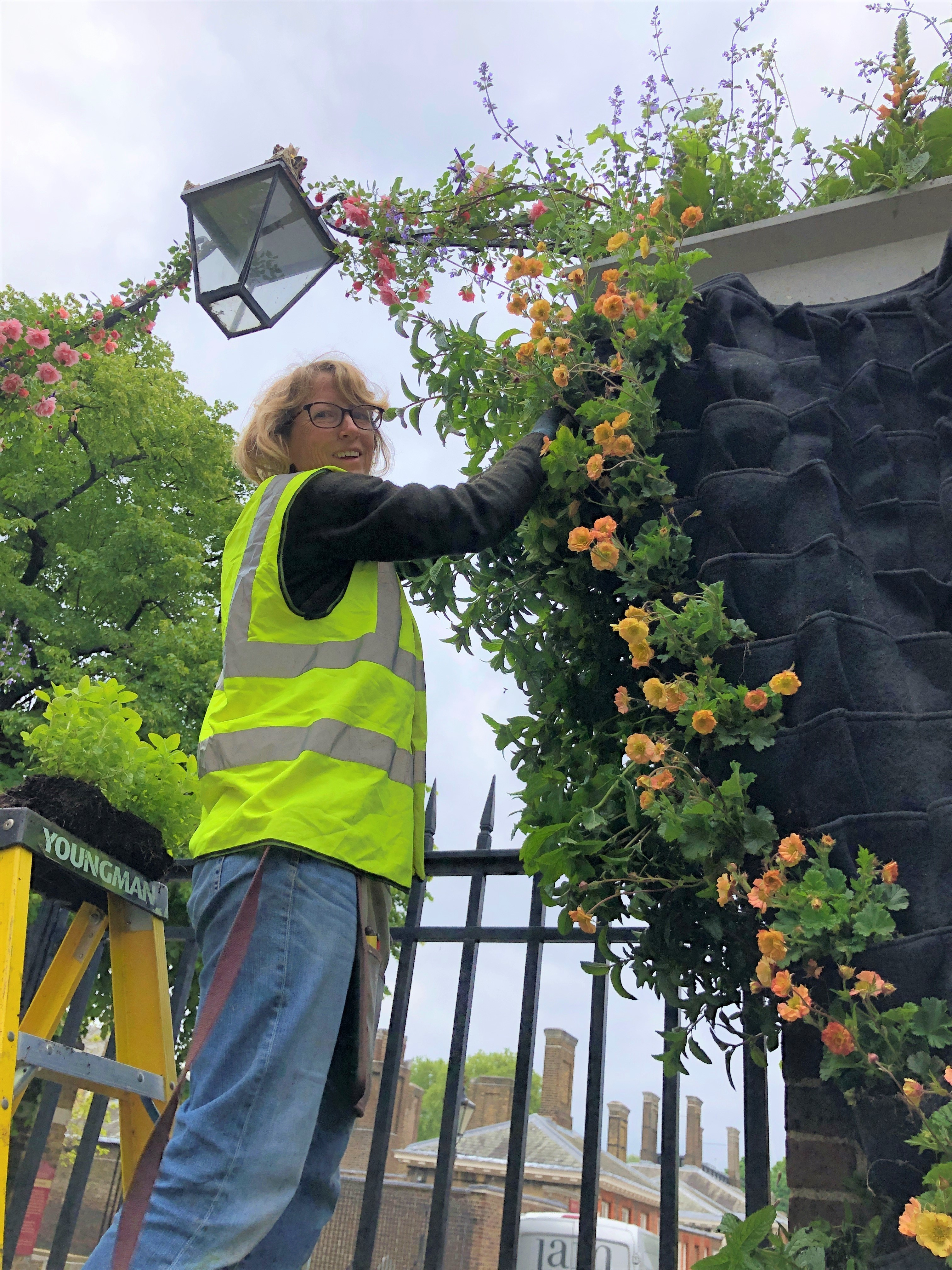 Living Walls install London Gate RHS Chelsea 2019