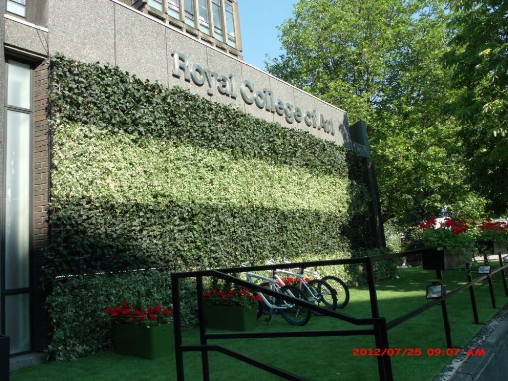 Living Wall at Royal College of Art