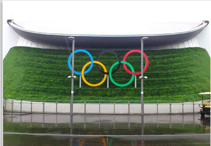 2012 Olympics Living Wall installed by Scotscape Group