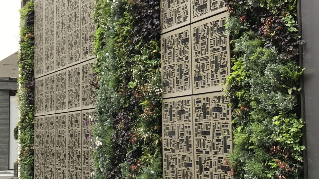 Living Walls are blossoming in cities worldwide