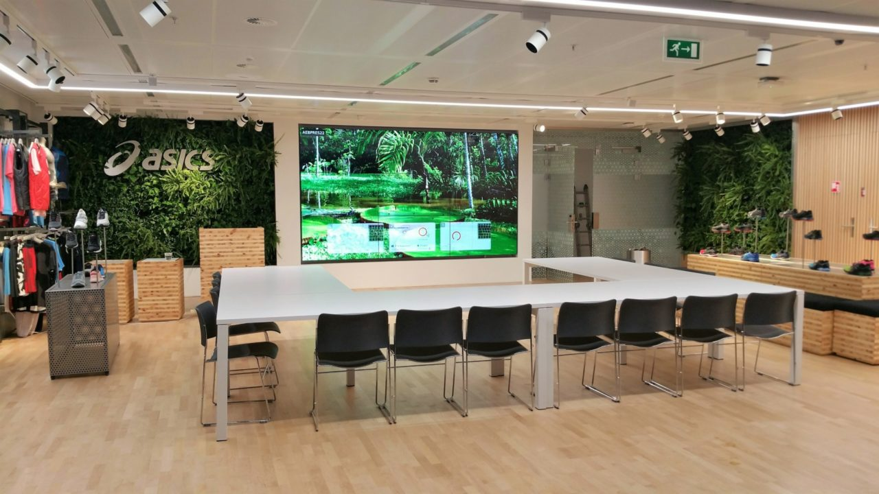 Living Walls and Plants for Healthy Offices