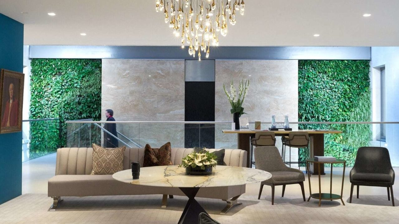 Living Walls and Living Columns at Grosvenor Britain and Ireland