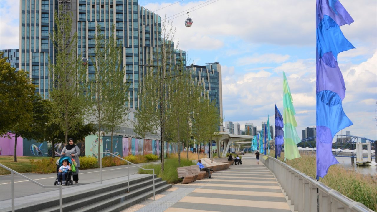 Soft Landscaping at Greenwich Waterfront