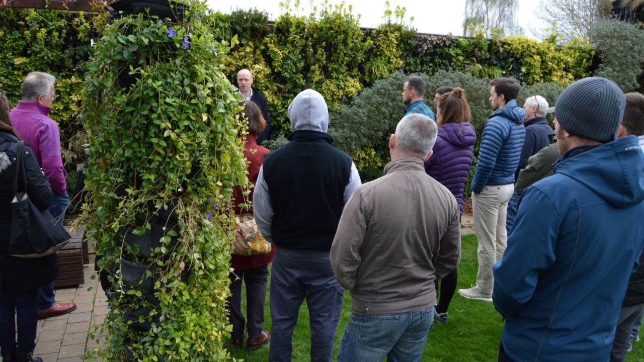 Living Walls Training days at Scotscape