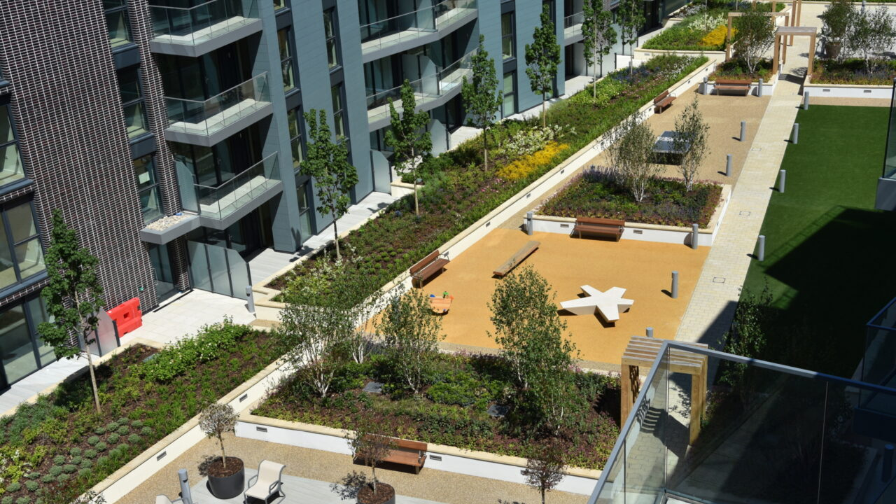 Groundscape win Landscape Maintenance at Greenwich Peninsula