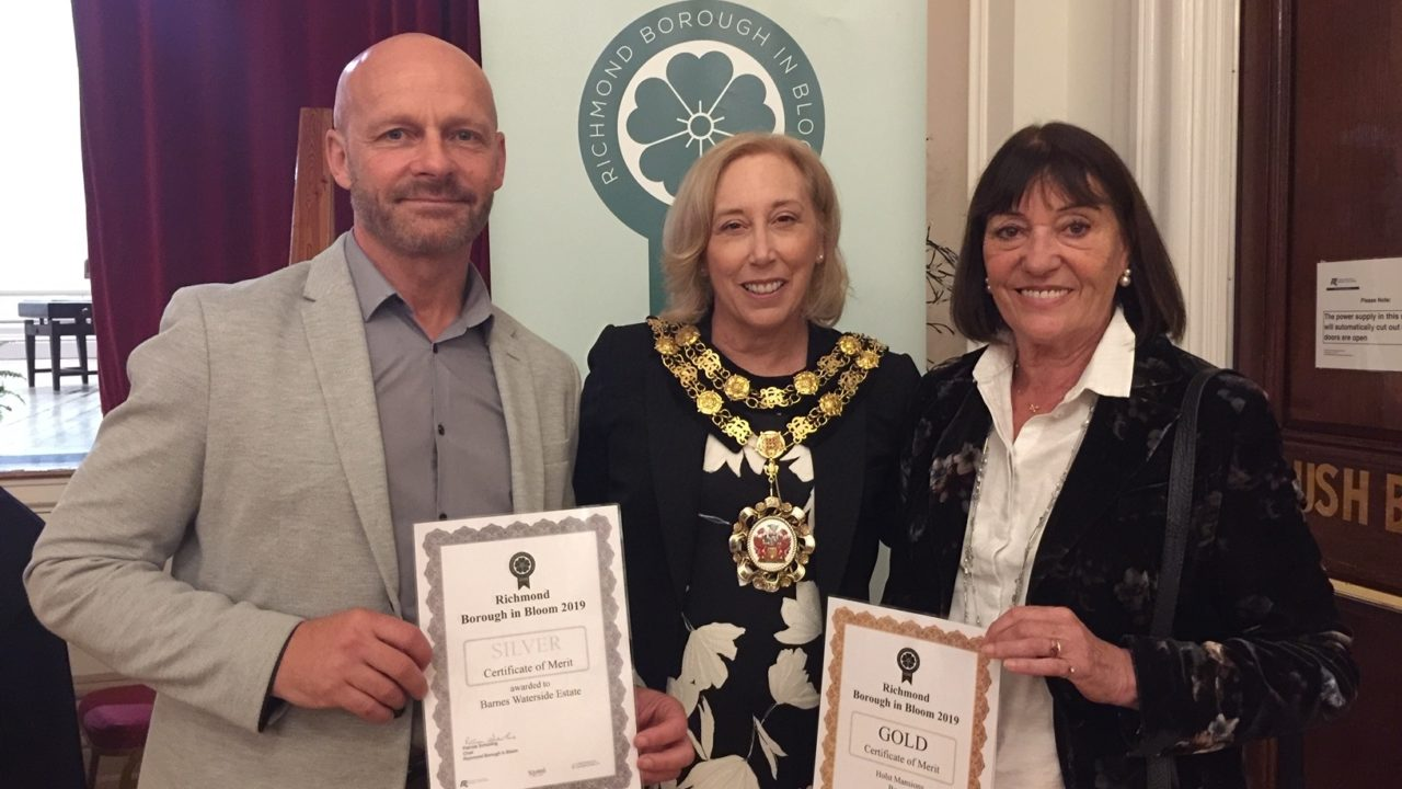 Two Richmond in Bloom awards for Scotscape's Groundscape Team