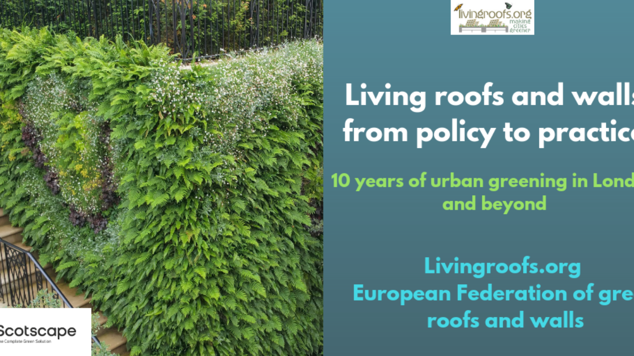 London Living Roofs and Living Walls Report