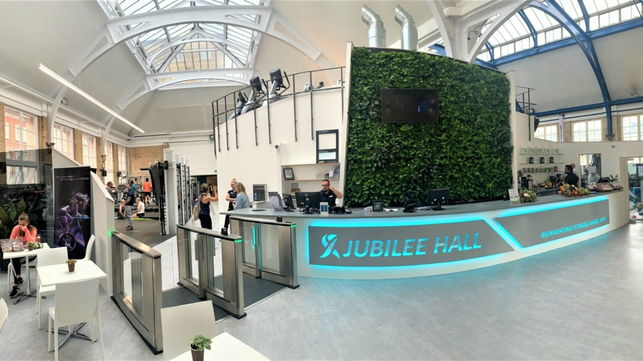 Living Wall for Jubilee Hall Gym