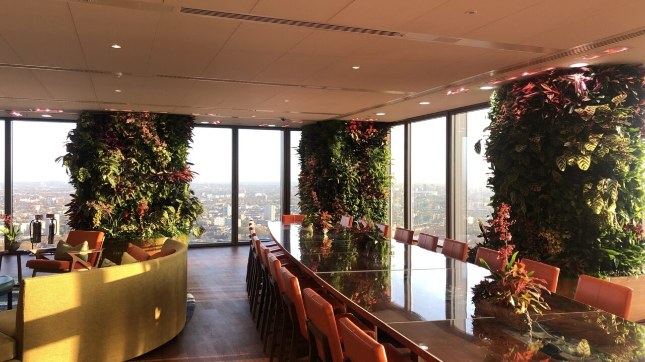Why Plants and Living Walls Should Be a Part of Your Return-to-Work Plan