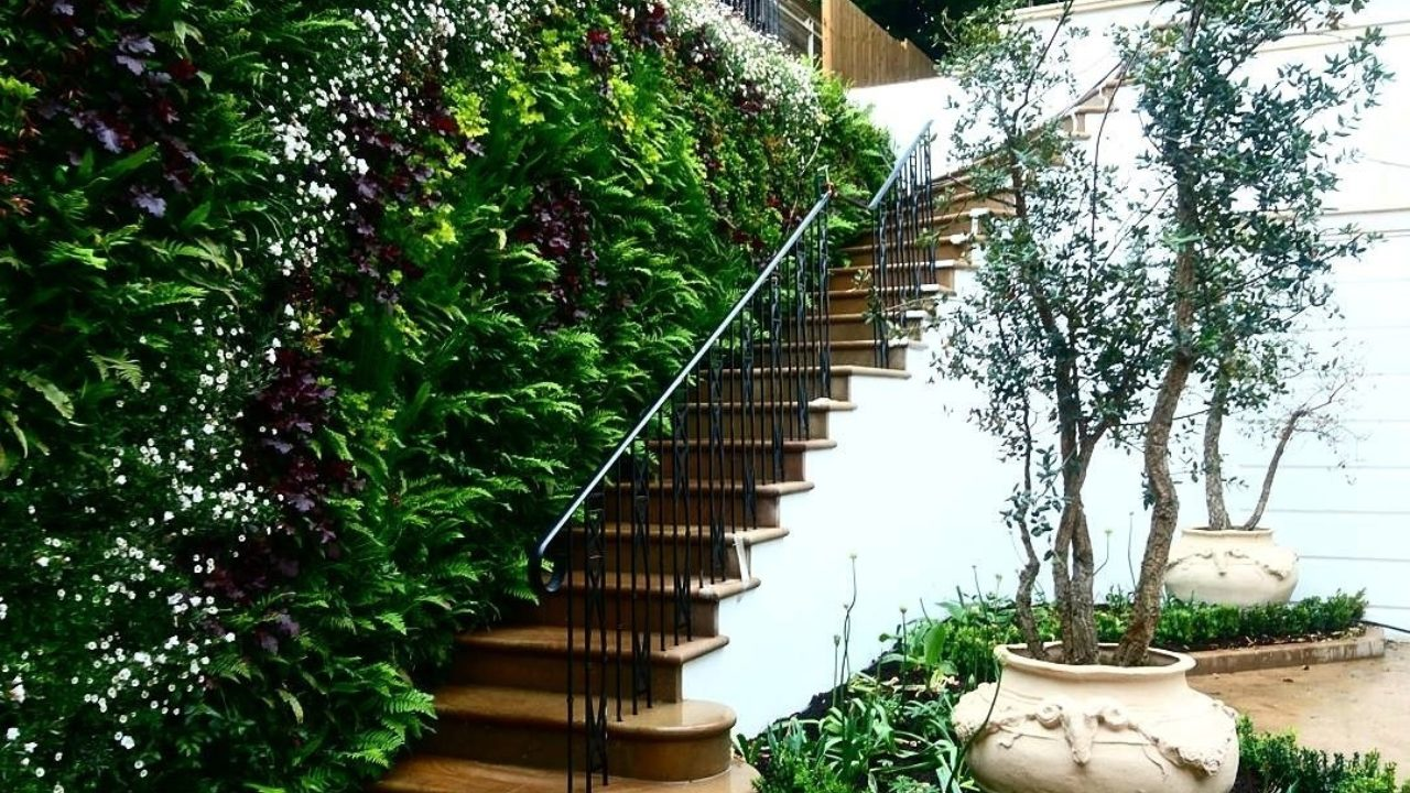 Living Walls for Urban Gardens