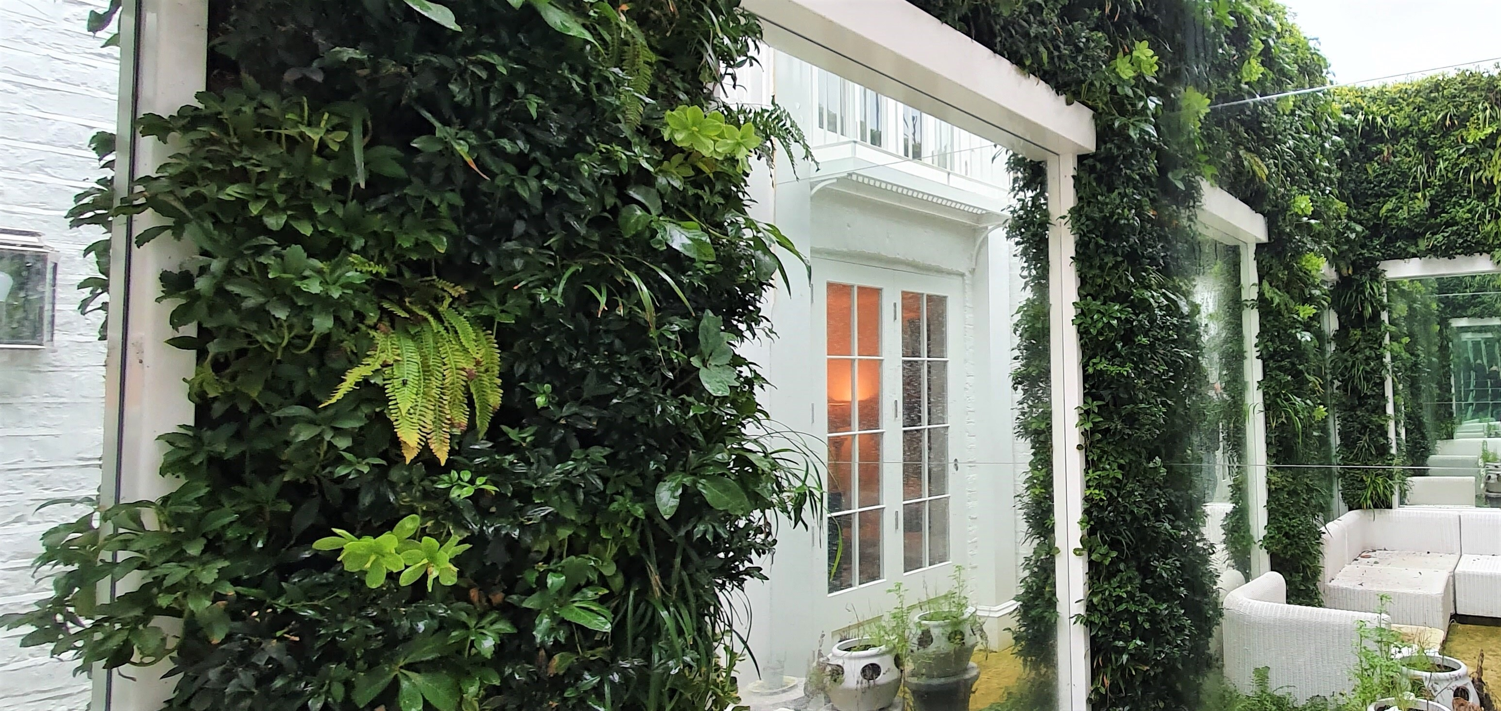 Living Walls private client Central London
