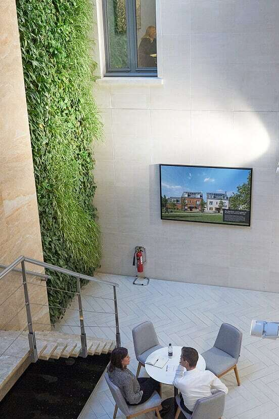 Interior Living Wall Grosvenor Britain and Ireland HQ